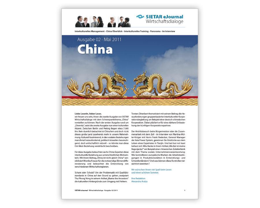 Ausgabe 02 · Mai 2011: China
