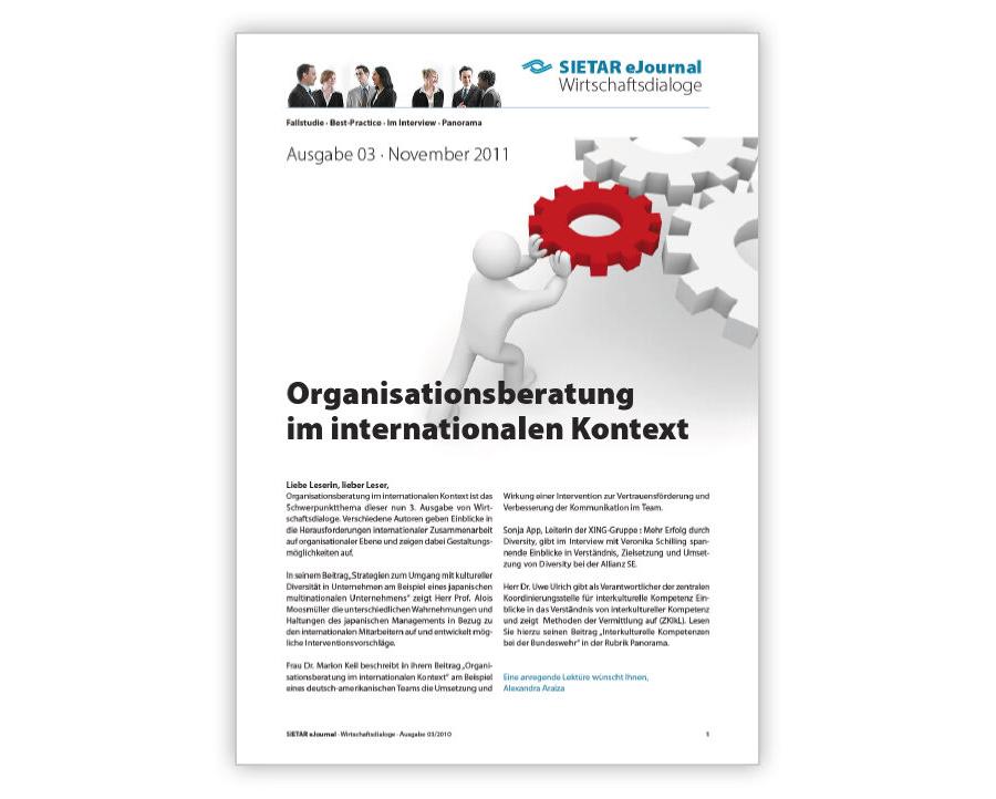 Ausgabe 03 · November 2011: Organisationsberatung im internationalen Kontext
