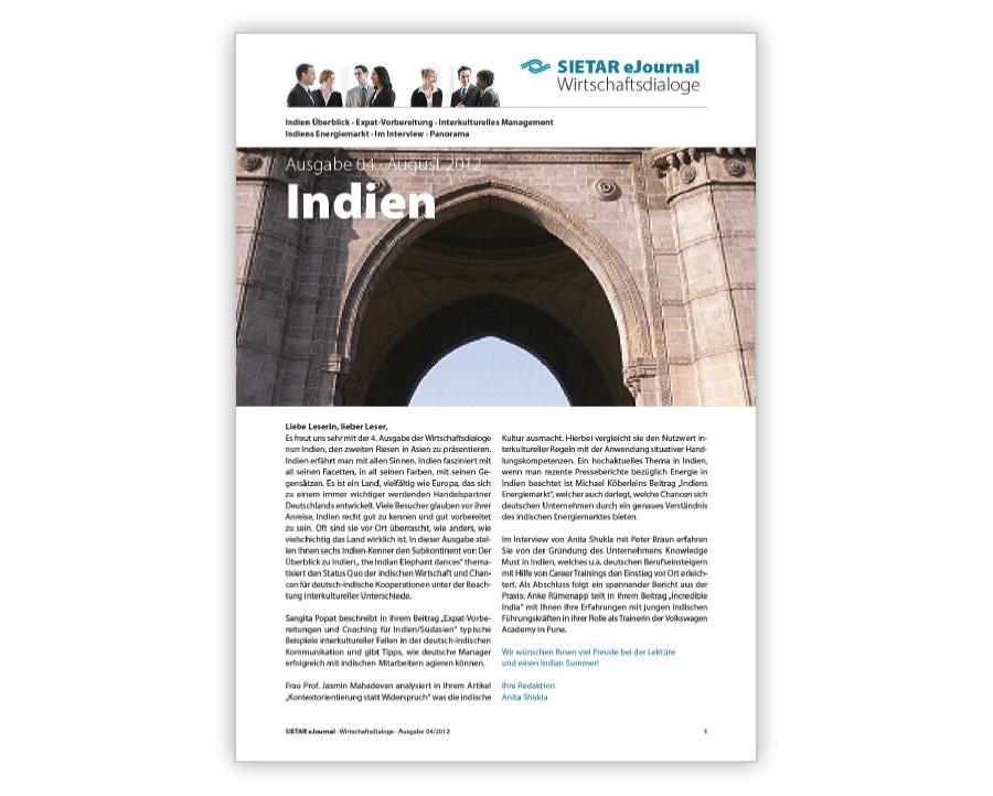 Ausgabe 04 · August 2012: Indien